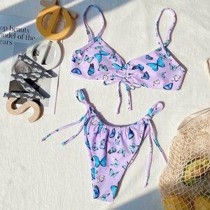 Butterfly 2-Piece Swimwear